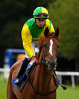 Keepers Choice ridden by Oisin Murphy goes down to the start of the Sorvio Insurance Maiden Fillies' Stakes, during Afternoon Racing at Salisbury Racecourse on 7th August 2017