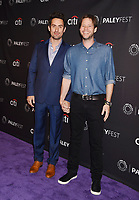 BEVERLY HILLS, CA - SEPTEMBER 08:  Actors Ed Weeks (L) and Ike Barinholtz attend The Paley Center for Media's 11th Annual PaleyFest fall TV previews Los Angeles for Hulu's The Mindy Project at The Paley Center for Media on September 8, 2017 in Beverly Hills, California.<br /> CAP/ROT/TM<br /> &copy;TM/ROT/Capital Pictures