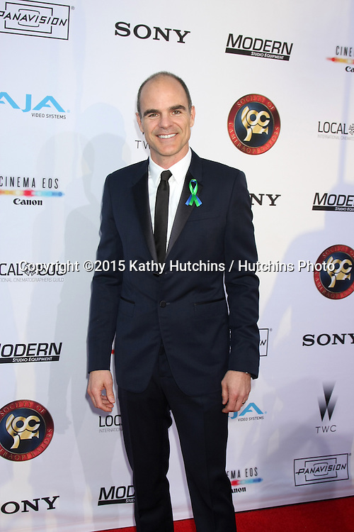 LOS ANGELES - FEB 8:  Michael Kelly at the 2015 Society Of Camera Operators Lifetime Achievement Awards at a Paramount Theater on February 8, 2015 in Los Angeles, CA