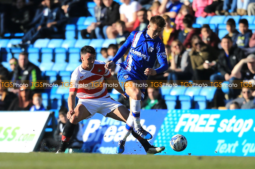 Jake Hessenthaler of Gillingham - Gillingham vs Doncaster Rovers - Sky Bet League One Football at Priestfield Stadium, Gillingham, Kent - 07/03/15 - MANDATORY CREDIT: Simon Roe/TGSPHOTO - Self billing applies where appropriate - contact@tgsphoto.co.uk - NO UNPAID USE