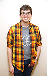 """Will Roland during the first day of rehearsals for the Broadway cast of """"Be More Chill"""" at Pearl Studios on January 10, 2019 in New York City."""