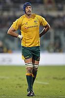 Natan Sharpe.Firenze 24/11/2012 Artemio Franchi Stadium .Rugby test match .Italia vs Australia / Italy Vs Australia.Photo Matteo Ciambelli /