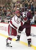 Greg Gozzo (Harvard - 13), Willie Brooks (Colgate - 6) - The Harvard University Crimson defeated the visiting Colgate University Raiders 7-4 (EN) on Saturday, February 20, 2016, at Bright-Landry Hockey Center in Boston, Massachusetts,