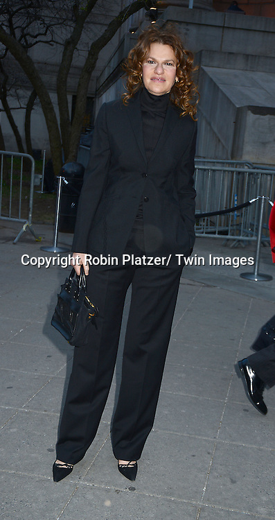 Sandra Bernhard arrives at the Vanity Fair Party for the 2014 Tribeca Film Festival on April 23, 2014 at the State Supreme Courthouse in New York, NY, USA