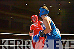 Seamus Moynihan v Liam Boyle at the Kingdom knockout fundraiser last Saturday night in the INEC, Killarney.