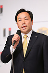 Masaki Yamauchi, <br /> AUGUST 10, 2015 : <br /> Yamato Holdings has Press conference in Tokyo. <br /> Yamato Holdings announced that <br /> it has entered into a partnership agreement with <br /> the Tokyo Organising Committee of the Olympic and Paralympic Games. <br /> With this agreement, Yamato Holdings becomes the official partner. <br /> (Photo by YUTAKA/AFLO SPORT)