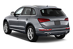 Car pictures of rear three quarter view of 2013-2014 Audi Q5 Base 5 Door SUV angular rear