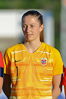 20200307  Lagos , Portugal : Norwegian goalkeeper Cecilie Haustaker Fiskerstrand (1) pictured during the female football game between the national teams of Germany and Norway on the second matchday of the Algarve Cup 2020 , a prestigious friendly womensoccer tournament in Portugal , on saturday 7 th March 2020 in Lagos , Portugal . PHOTO SPORTPIX.BE | STIJN AUDOOREN