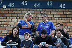 Everton fans during the English Premier League match at Goodison Park , Liverpool. Picture date: April 30th, 2017. Photo credit should read: Lynne Cameron/Sportimage