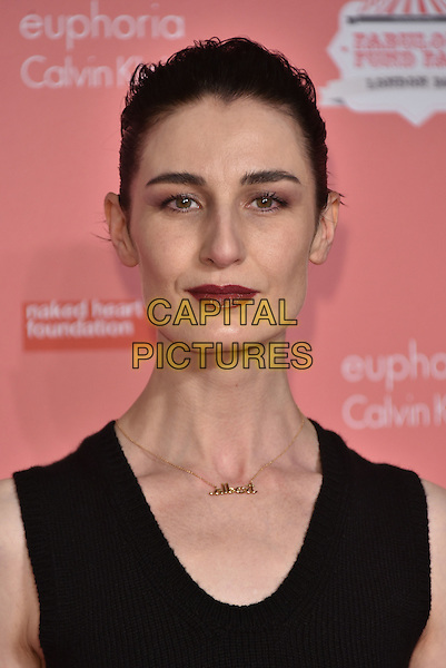 Erin O'Connor<br /> arrivals at London's Fabulous Fund Fair 2016 in aid of the Naked Heart Foundation at Old Billingsgate Market on 20th February 2016.<br /> CAP/PL<br /> &copy;Phil Loftus/Capital Pictures
