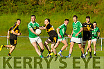 D O'Shea St Kierans in Action Against Jamie Doolan in the  Kerry County Football Championship on Saturday.