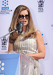 HOLLYWOOD, CA- APRIL 27: Maria Shriver attends actress Jane Fonda's Handprint/Footprint Ceremony during the 2013 TCM Classic Film Festival at TCL Chinese Theatre on April 27, 2013 in Los Angeles, California.