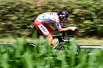 Polka Dot Jersey Tim Wellens (BEL) Lotto-Soudal in action during Stage 13 of the 2019 Tour de France an individual time trial running 27.2km from Pau to Pau, France. 19th July 2019.<br /> Picture: ASO/Alex Broadway | Cyclefile<br /> All photos usage must carry mandatory copyright credit (© Cyclefile | ASO/Alex Broadway)