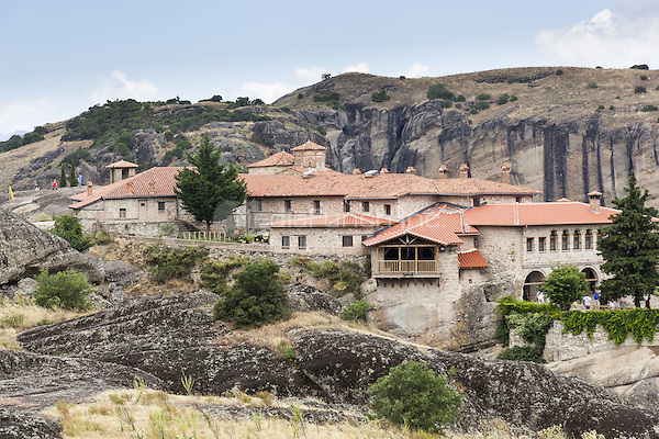 Monastery of the Holy Trinity, Meteora, Thessaly, Greece <br /> CAP/MEL<br /> &copy;MEL/Capital Pictures /MediaPunch ***NORTH AND SOUTH AMERICA ONLY***