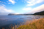 Clallam Bay, near the west end of the Strait of Juan de Fuca and the fishing community of Sekiu. Olympic Penninsula, Washington.  Outdoor Adventure. Olympic Peninsula