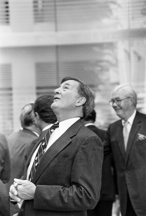 Sen. John Chafee, D-R.I. in 1992. (Photo by Laura Patterson/CQ Roll Call)