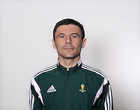 FUSSBALL Fototermin FIFA WM Schiedsrichter  09.04.2014 Milorad MAZIC (Serbien)