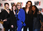 Emily Kaczmarek, Rachel Sussman, Lisa McNulty, Zoe Sarnack, Donnetta Lavinia Grays attends the WP Theater's 40th Anniversary Gala -  Women of Achievement Awards at the Edison Hotel on April 15, 2019  in New York City.