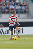 February 9, 2013:   USA Women's National Team midfielder Carli Lloyd (10) dribbles the ball during action between the USA Women's National Team and Scotland at EverBank Field in Jacksonville, Florida.  USA defeated Scotland 4-1............