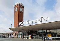 Nederland Nijmegen 2016 02 25.  Station Nijmegen.  Foto Berlinda van Dam / Hollandse Hoogte