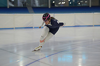 SPEED SKATING: Heerenveen: 2019, IJsstadion Thialf, training Ice-derby, long track and short track speed skating, ©photo Martin de Jong