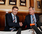 04.05.2018 Steven Gerrard and Dave King