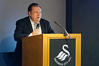 Pictured: Kevin Johns. Thursday 29 November 2018<br /> Re: Swansea City Business Network event at the Liberty Stadium, Wales, UK.