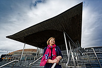2018 09 17 Lynne Neagle at The Senedd, Cardiff Bay, Wales, UK