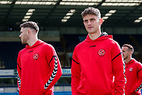Fleetwood Town's Wes Burns and Harrison Biggins pictured before the match<br /> <br /> Photographer Andrew Kearns/CameraSport<br /> <br /> The EFL Sky Bet League One - Wycombe Wanderers v Fleetwood Town - Saturday 4th May 2019 - Adams Park - Wycombe<br /> <br /> World Copyright © 2019 CameraSport. All rights reserved. 43 Linden Ave. Countesthorpe. Leicester. England. LE8 5PG - Tel: +44 (0) 116 277 4147 - admin@camerasport.com - www.camerasport.com