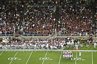 23 September 2006: Fans during Stanford's 36-10 loss to Washington State at Stanford Stadium in Stanford, CA.