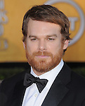 Michael C. Hall at the 18th Screen Actors Guild Awards held at The Shrine Auditorium in Los Angeles, California on January 29,2012                                                                               © 2012 Hollywood Press Agency