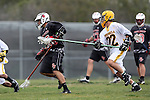Palos Verdes, CA 04/14/09 -  Hunter Baldwin (PV#15) and Spencer Winter (Peninsula #22)