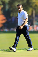 European Team Player Graeme McDowell (NIR) on the 16th green during Sunday's Singles Matches of the 39th Ryder Cup at Medinah Country Club, Chicago, Illinois 30th September 2012 (Photo Colum Watts/www.golffile.ie)
