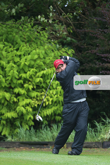 Cathal Patton (Strabane) during the Ulster Mixed Foursomes Final, Shandon Park Golf Club, Belfast. 19/08/2016<br /> <br /> Picture Jenny Matthews / Golffile.ie<br /> <br /> All photo usage must carry mandatory copyright credit (© Golffile | Jenny Matthews)