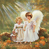 Dona Gelsinger, CHILDREN, paintings(USGE0719,#K#) Kinder, niños, illustrations, pinturas angels, ,everyday