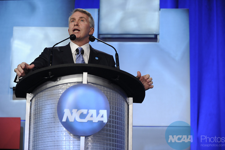 14 JAN 2011: Honorees and guests participate in the NCAA Honors Celebration at the 2011 NCAA Convention held at the Hyatt hotel in San Antonio, TX. Stephen Nowland/NCAA Photos.Pictured: Jack Ford