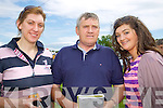 Tracey Hennessy, John Hennessy and Siobhan Hennessy, Carrig Kerry at Abbeyfeale races on Sunday.