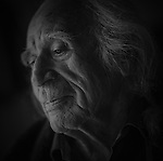 Wilmer Nadjiwon, Ojibwa Nation, Cape Croker. Wilmer is an Elder that has always worked hard for his people and, in his late eighties, still does.