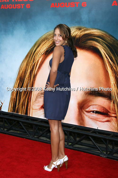 """Christel Khalil  arriving at the premiere of """"Pineapple Express""""  in Westwood, CA on.July 31, 2008.©2008 Kathy Hutchins / Hutchins Photo ."""