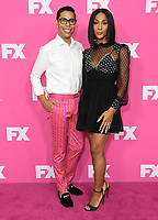 06 August 2019 - Beverly Hills, California - Steven Canals, MJ Rodriguez. 2019 FX Networks Summer TCA held at Beverly Hilton Hotel.    <br /> CAP/ADM/BT<br /> ©BT/ADM/Capital Pictures
