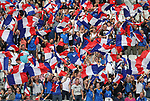 France's fans get behind their side during the Friendly match at Stade De France Stadium, Paris Picture date 13th June 2017. Picture credit should read: David Klein/Sportimage