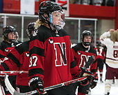 Kasidy Anderson (NU - 37) -  The Boston College Eagles defeated the Northeastern University Huskies 2-1 in overtime to win the 2017 Hockey East championship on Sunday, March 5, 2017, at Walter Brown Arena in Boston, Massachusetts.
