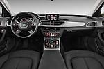 Straight dashboard view of a 2014 Audi A6 AVUS 4 Door Sedan 2WD