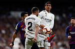 Real Madrid CF's Dani Carvajal and FC Barcelona's Luis Suarez during La Liga match. March 02, 2019. (ALTERPHOTOS/Manu R.B.)