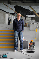 Pictured: Swansea City Football Club player Garry Monk at the Liberty Stadium, south Wales. Thursday 11 August 2011