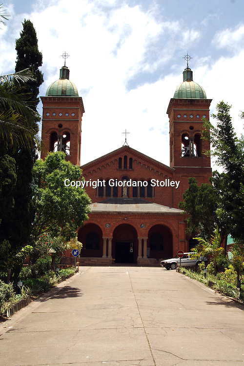 DURBAN - Veiw to the St Joseph Church at the Mariannhill Monastery about 20 kilometres from Durban. The monastery was founded by Abbot Franz Pfanner (1825-1909) in 1882...Picture: Giordano Stolley/Allied Picture Press