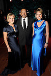 From left: Chairs Randa Duncan Williams, Mike Trevino and Ileana Trevino at the Discovery Green Gala Saturday Feb. 06, 2016.(Dave Rossman photo)