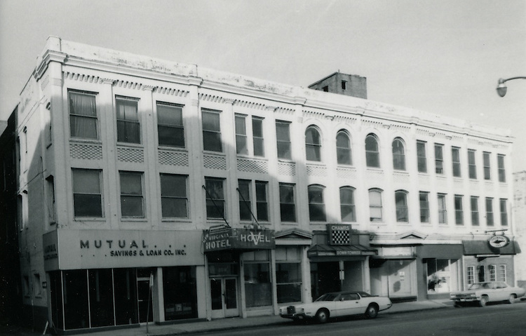 UNDATED..Conservation.Downtown West (A-1-3)....106 - 116 East Plume Street...NEG#.NRHA#..Roll 3 Bldg29