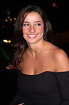 Shoshanna Lonstein arrives at a benefit in Manhattan on October 17, 2001.