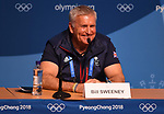 Bill Sweeney (BOA Chief Executive). TeamGB final press conference. Main press centre. Alpensia. Pyeongchang2018 winter Olympics. Republic of Korea. 25/02/2018. ~ MANDATORY CREDIT Garry Bowden/SIPPA - NO UNAUTHORISED USE - +44 7837 394578